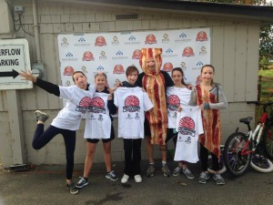 Halloween Alley Kelowna at the 5K Great Canadian Bacon Run