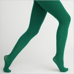 Green tights for St. Patrick's Day, why not?