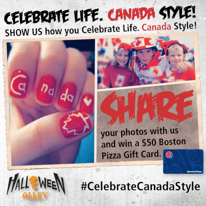 Canada day promo - Halloween Alley
