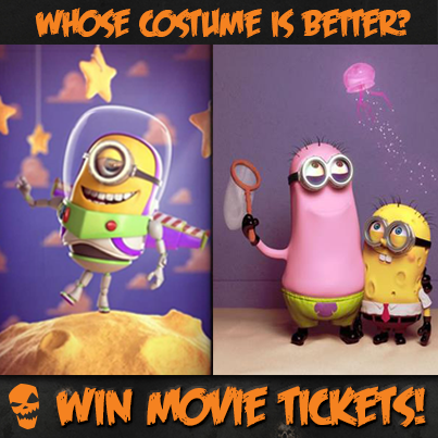Minions in Spongebob Costume