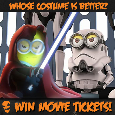 Minions in Star Wars Costume