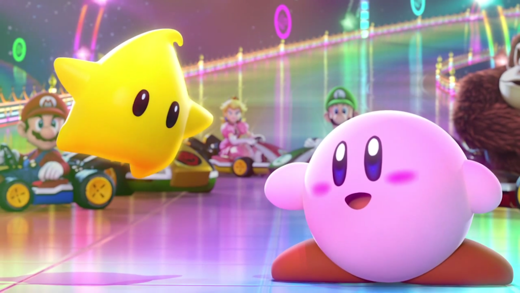 Luma and Kirby