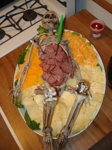 Skeleton Halloween Dip