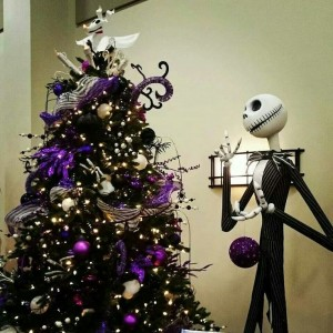Jack Skellington Tree