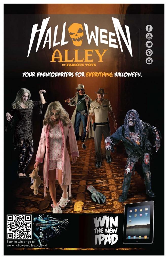 Halloween Flyer 2012
