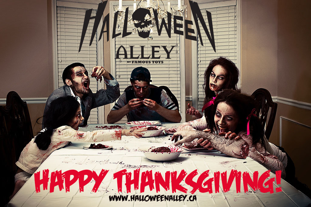 Happy Thanksgiving from Halloween Alley