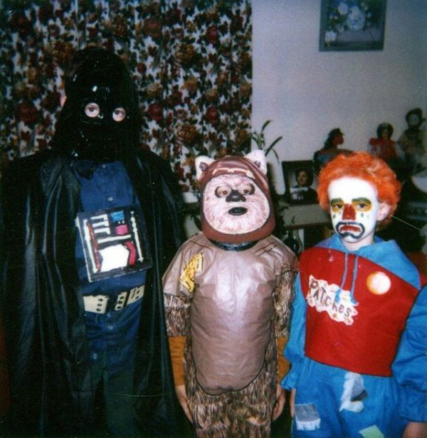 Mom made Halloween costume