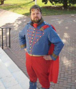 DIY Steampunk Superman Costume