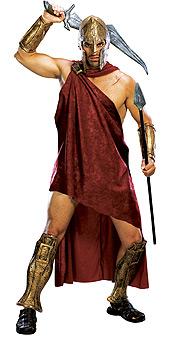 Deluxe Spartan - 300 Halloween Costumes
