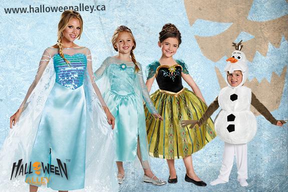 Frozen Halloween Costumes Canada