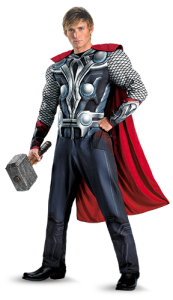 Thor, an Avenger, is sure to be a hot Halloween costume this year!