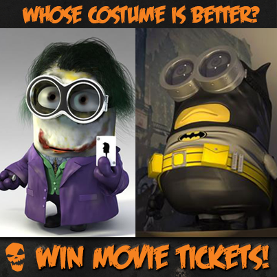 Minions in Batman Costume