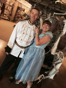 Cinderella and Prince Charming Costumes at Edmonton West