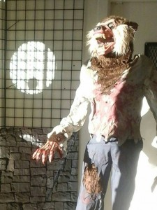 Werewolf at our North Vancouver Halloween Store