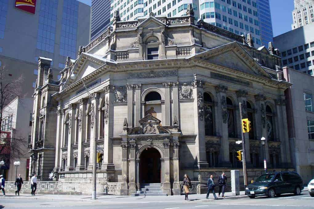 The Hockey Hall of Fame in Toronto, Ontario