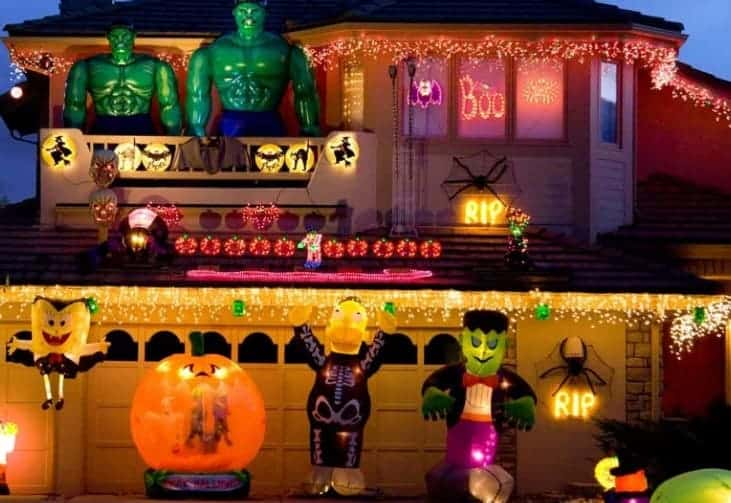 Hulk theme Halloween decoration theme Canada