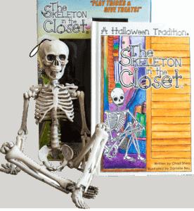 Skeleton In The Closet Decoration