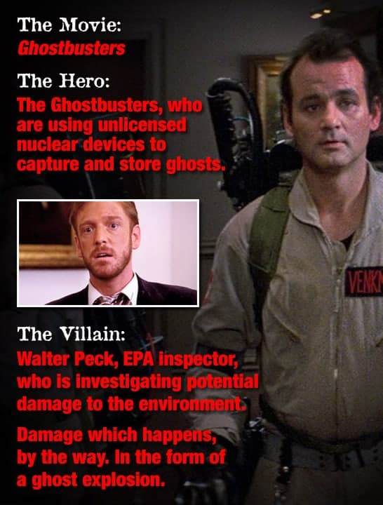 Walter from Ghostbusters