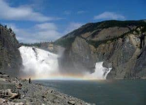 Nahanni National Park Reserve close to Fort Simpson