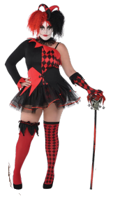 Harley Quinn Plus Size Costume