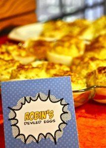 Robin's eggs