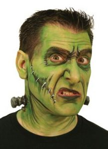Frankenstein makeup halloween