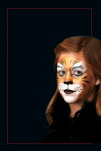 Cat Mehron Halloween Makeup