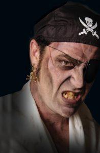 Pirate Mehron Halloween Makeup
