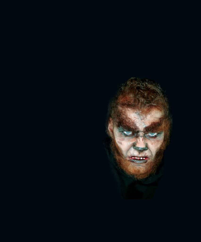 Werewolf Mehron Halloween Makeup