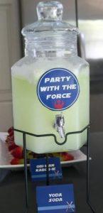 Starwars theme party ideas
