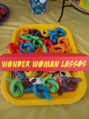 Wonder Woman Lassos