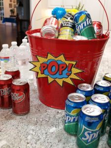 Pop Soda Bucket