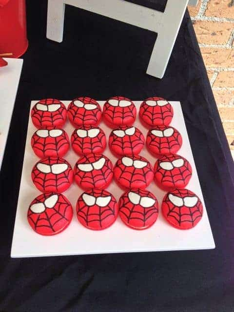 Spiderman Oreos