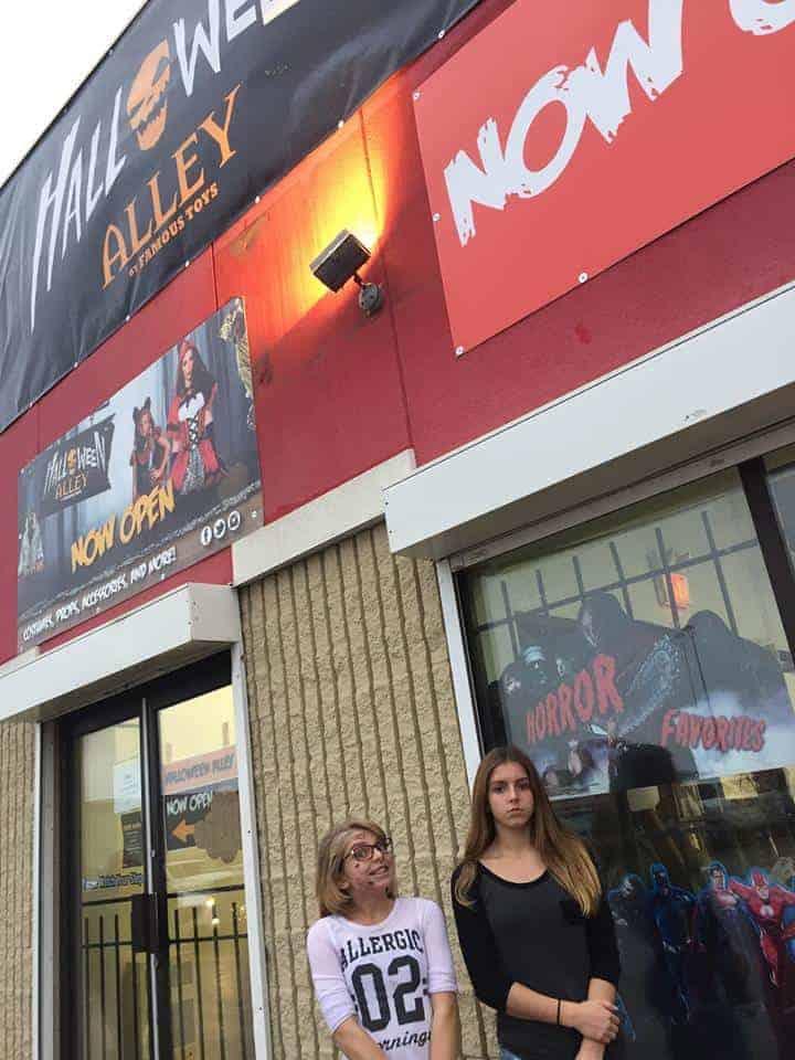 Halloween ALley store