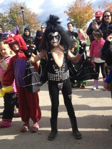 halloween kid kiss costume
