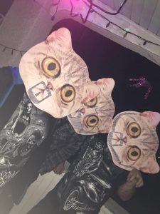 Halloween Mask Cat