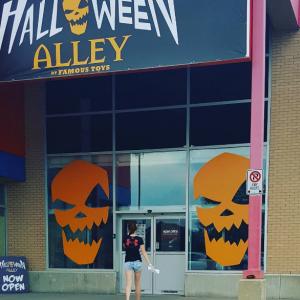 halloween alley jobs