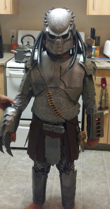 halloween alley kid costume DIY