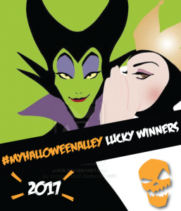 Halloween Alley iPad contest winner
