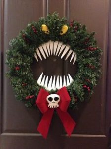 Halloween style christmas