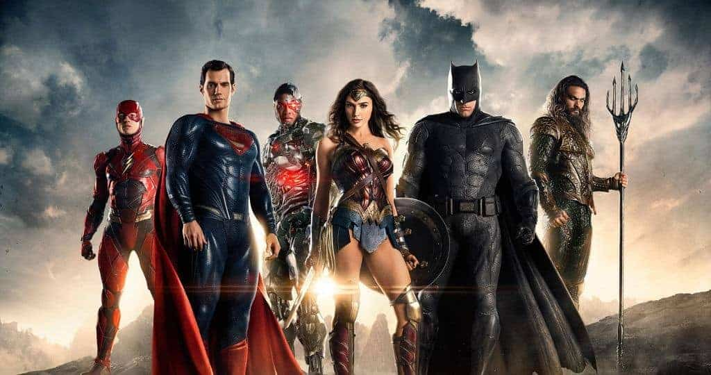 Justice League Costumes - Movie Poster
