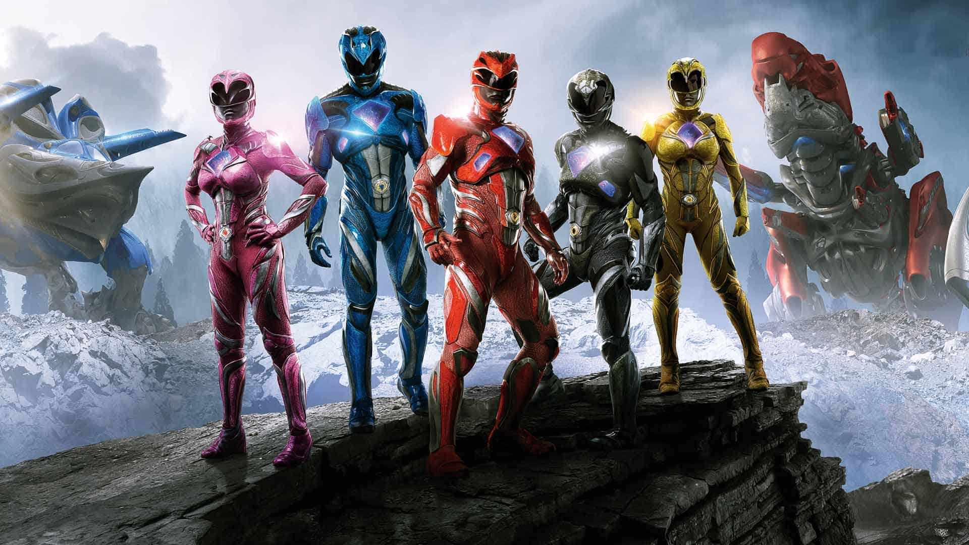 Power Rangers 2017 Costumes