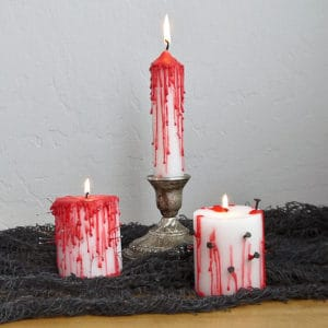 Creepy-Halloween-DIY-Dripping-Bloody-Candles