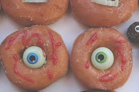 Monster Halloween Donuts
