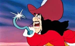 Captain Hook Cavalier Hat