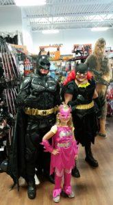 Family Batman Halloween Costumes
