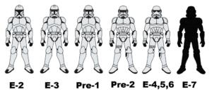 Storm Trooper Costume Evolution