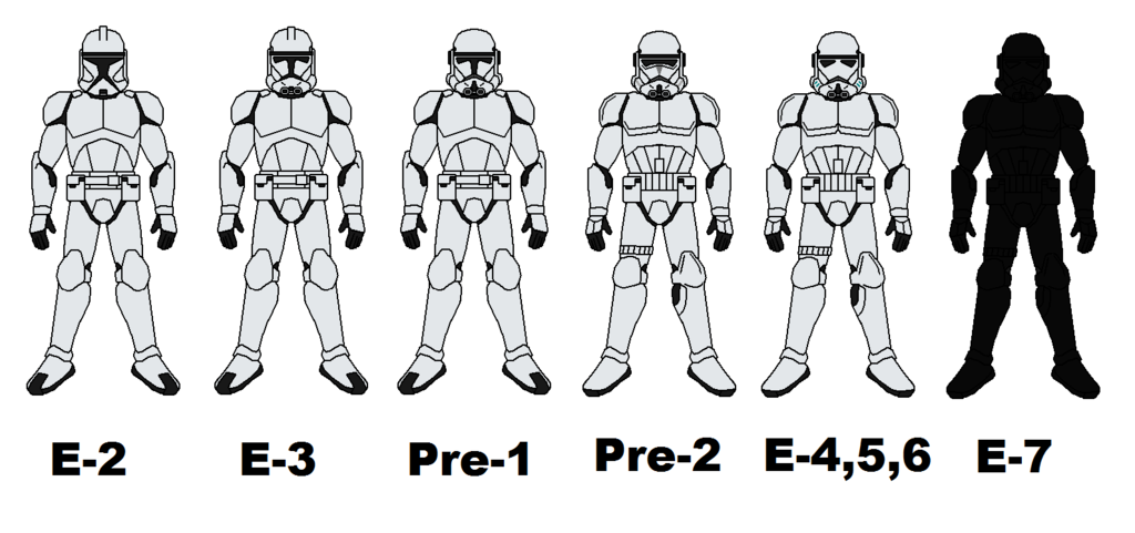 Storm Trooper Costume Evolution