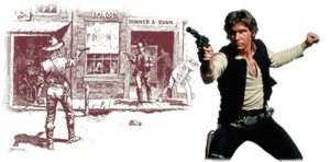 Han Solo Costume Wild West