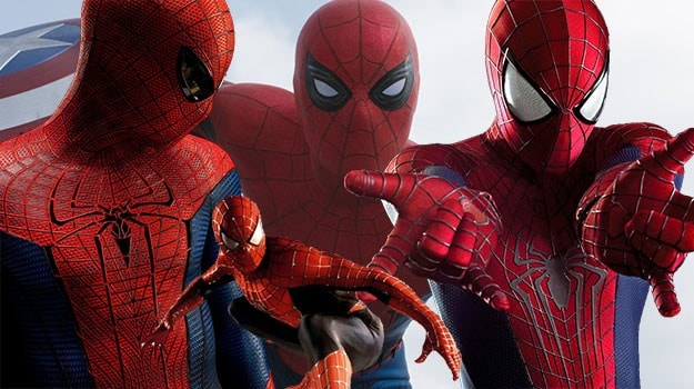 amazing spiderman costumes over the years